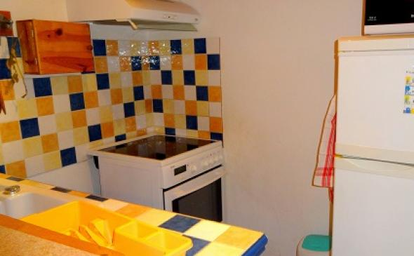 une kitchenette fonctionnelle